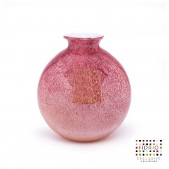 Fidrio Bolvase with Neck 24cm  ANCIENT PINK