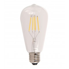 LED lamp filament drop 4W clear