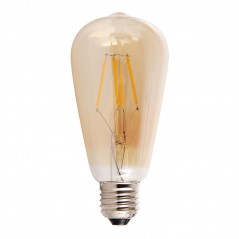 LED lamp filament drop 4W golden