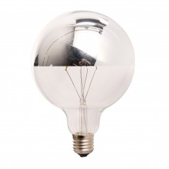 LED lamp filament globe extra large 4W reflect